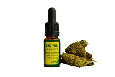 20% 10ml Hanf (Cannabis sativa L), Pflanzenöl